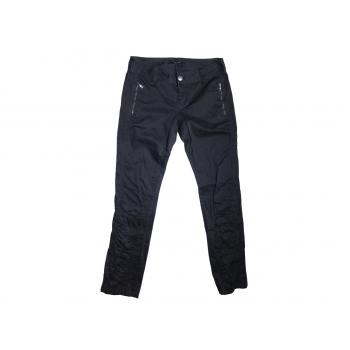 Женские черные узкие брюки VERO MODA