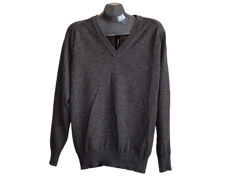 Мужской пуловер шерстяной, L