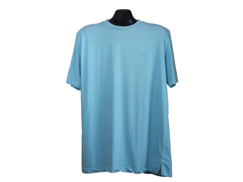 Мужская голубая футболка HUGO BOSS, L