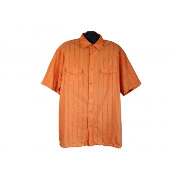Рубашка мужская оранжевая BIAGGINI, XXL