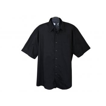 Рубашка мужская черная ORKNEYS, XL