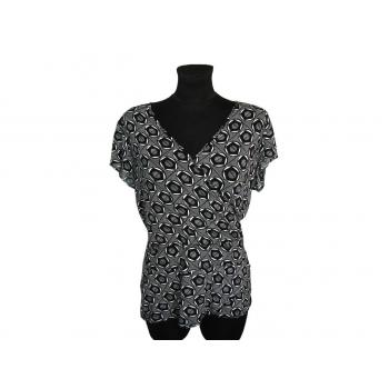 Женская черно-белая блузка H&M