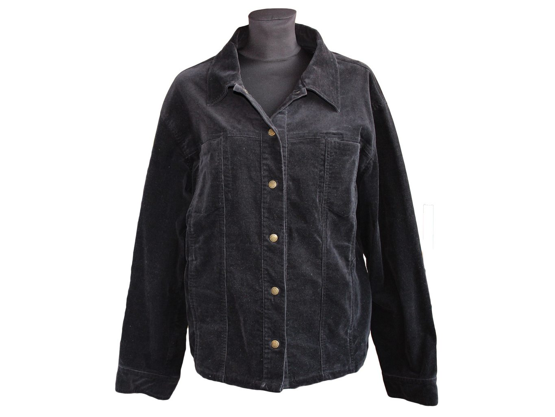 Женская вельветовая куртка большого размера ESSENFIELD, XXXL