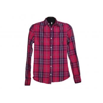 Детская красная рубашка в клетку TOPMAN для мальчика 8-11 лет
