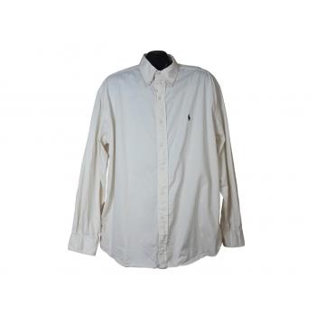 Мужская бежевая рубашка RALPH LAUREN