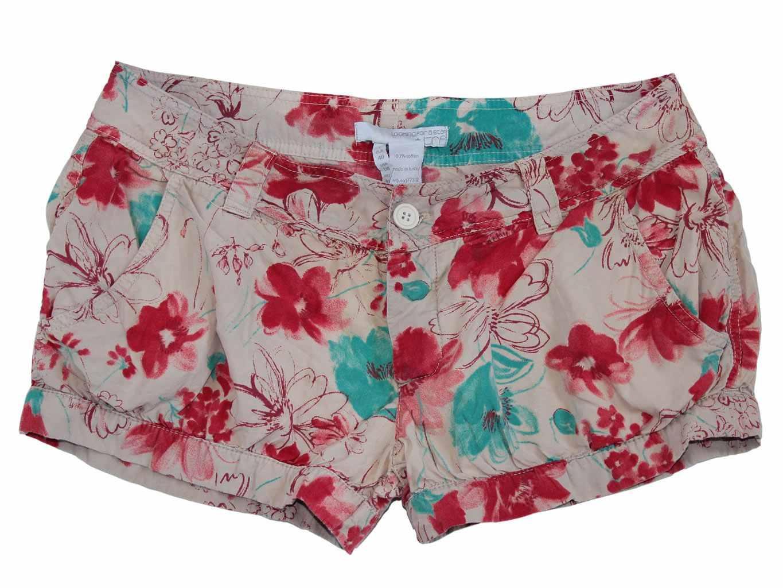 Женские цветные мини шорты