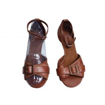 Женские кожаные босоножки CLARKS 36 размер