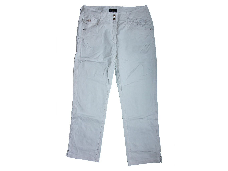 Женские белые брюки L.ARGENTINA, L