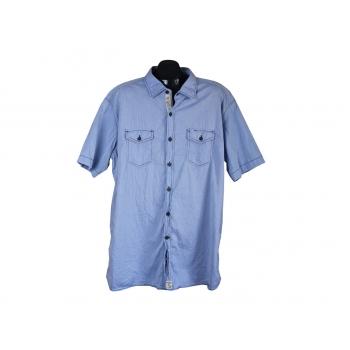 Мужская голубая рубашка PIERRE CARDIN, 3XL