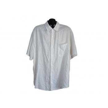 Мужская белая льняная рубашка NEXT, 3XL