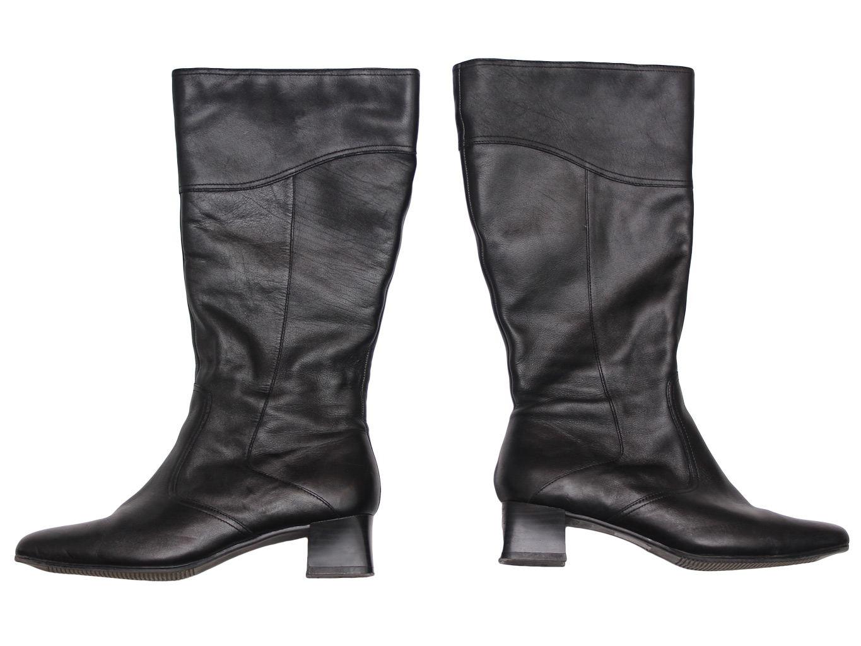 Женские осенние кожаные сапоги CLARKS 37 размер