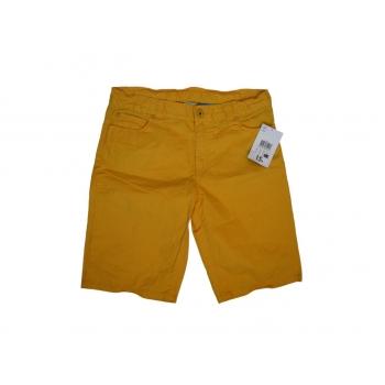 Детские желтые шорты TEX KIDS на мальчика 9-12 лет
