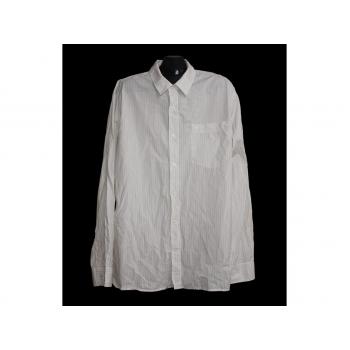 Мужская бежевая рубашка в полоску TIMBERLAND, XL