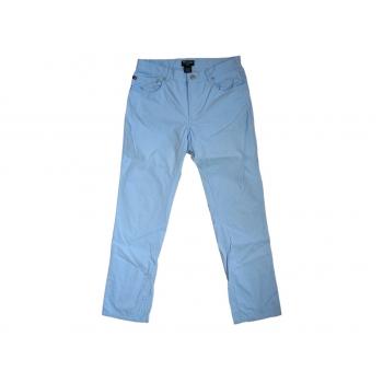 Женские голубые узкие брюки POLO RALPH LAUREN, S