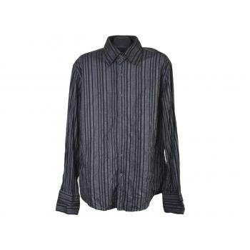 Рубашка мужская серая SMOG, XL