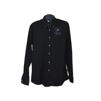 Рубашка мужская черная GAASTRA, L