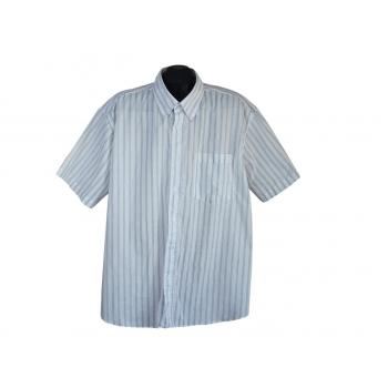 Рубашка мужская белая в полоску 3XL