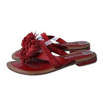 Босоножки женские кожаные красные TAMARIS 37 размер