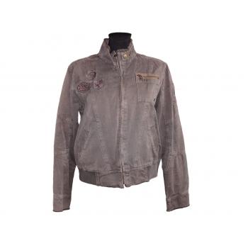 Женская коричневая куртка на весну-осень MBJ, М