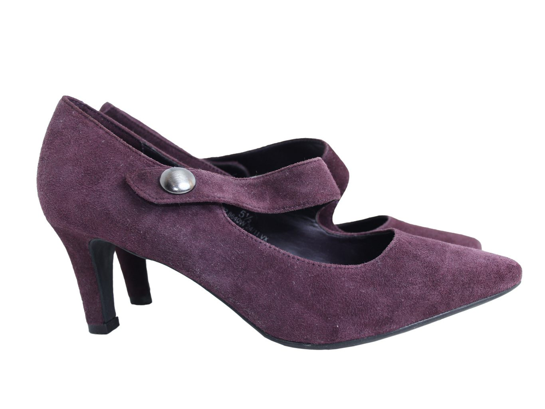 Женские замшевые туфли FOOTGLOVE MARKS & SPENCER 38 размер