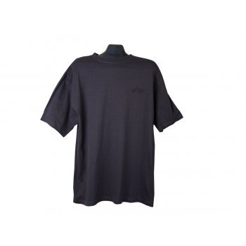 Мужская черная футболка ASICS, XL