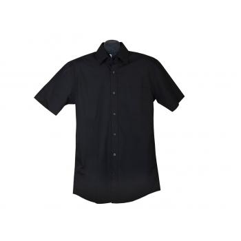 Рубашка мужская черная GEORGE, M