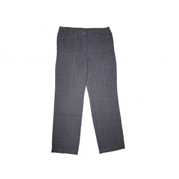 Женские серые льняные брюки GERRY WEBER, L