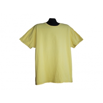 Мужская желтая футболка GAP, L