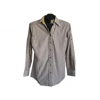 Женская серая рубашка в полоску WAITROSE, М