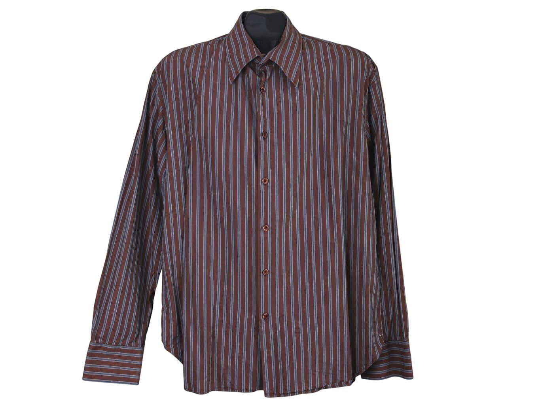 d49cca401ac8 Рубашка приталенная мужская в полоску PAUL SMITH, цена до 549 ...