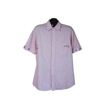 Рубашка мужская розовая G-STAR RAW, L