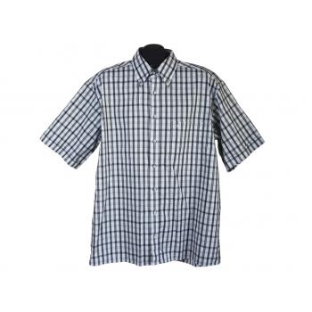 Рубашка мужская в клетку ETERNA BLUE LINE, XL