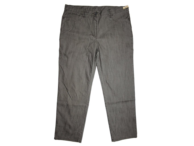 Женские серые джинсы LAURA