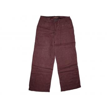 Женские коричневые льняные брюки ATMOSPHERE, S