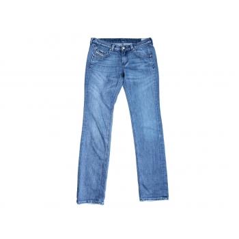 Женские голубые узкие джинсы DIESEL