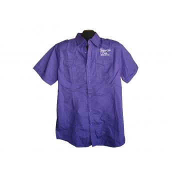 Мужская фиолетовая рубашка REFIL, М