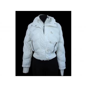 Женская белая куртка осень зима VINTAGE EDITION, S