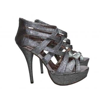 Яркие женские босоножки на высоком каблуке FOREVER 21