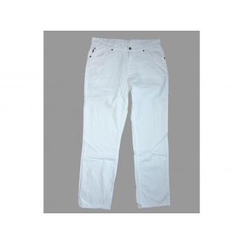 Мужские белые льняные брюки ANGELO LITRICO W 34 L 36