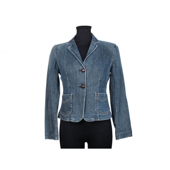 Женская синяя джинсовая куртка GAP