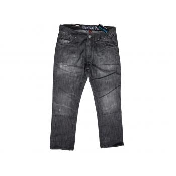 Мужские рваные джинсы на высокий рост W 34 DENIM