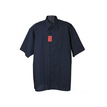 Рубашка мужская синяя TONY BROWN, XXL