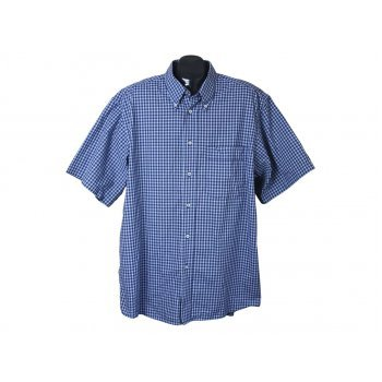 Рубашка мужская синяя CLAUDIO FERRARA, XL