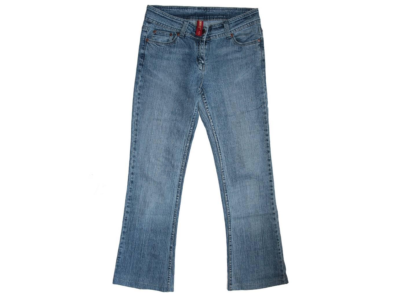 Женские недорогие джинсы клеш DENIM, S
