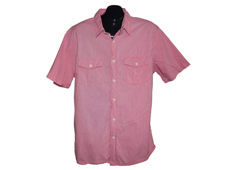 Мужская розовая рубашка MARKS & SPENCER, L