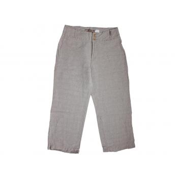 Женские бежевые льняные брюки BC, XS