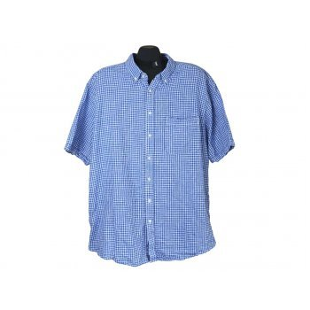 Мужская льняная рубашка TU, XXL
