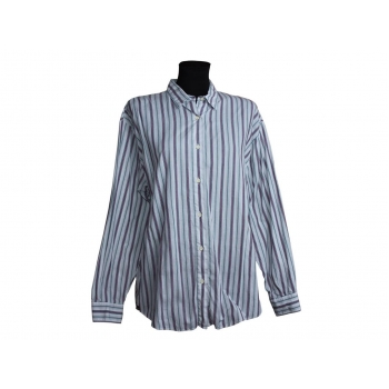 Женская серая рубашка в полоску BENETTON, XXXL
