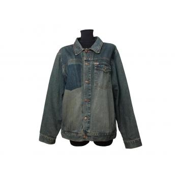Женская синяя джинсовая куртка CIRCA, XXXL