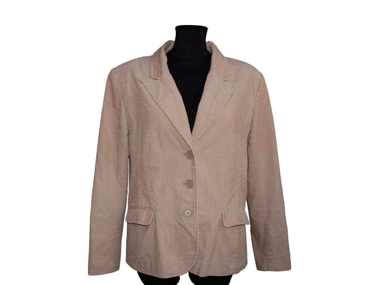Женский вельветовый пиджак H&M, XXL